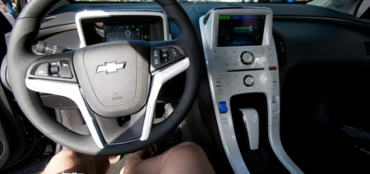 The interior of the Volt was dissapointing.