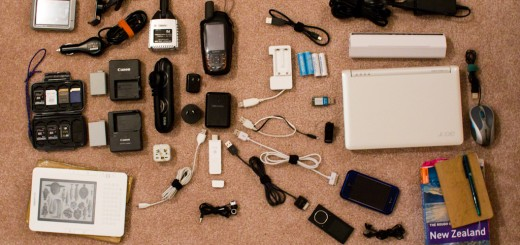 Products, accessories, cables and Adapters required to travel with Technology.