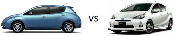 Leaf vs. Prius