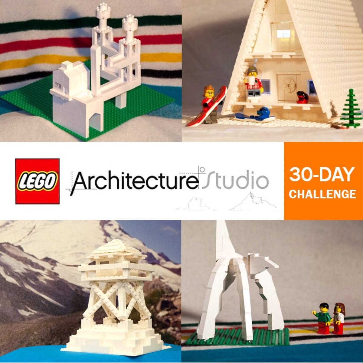 Lego Architecture Studio 30 Day Challenge Tom Alphin