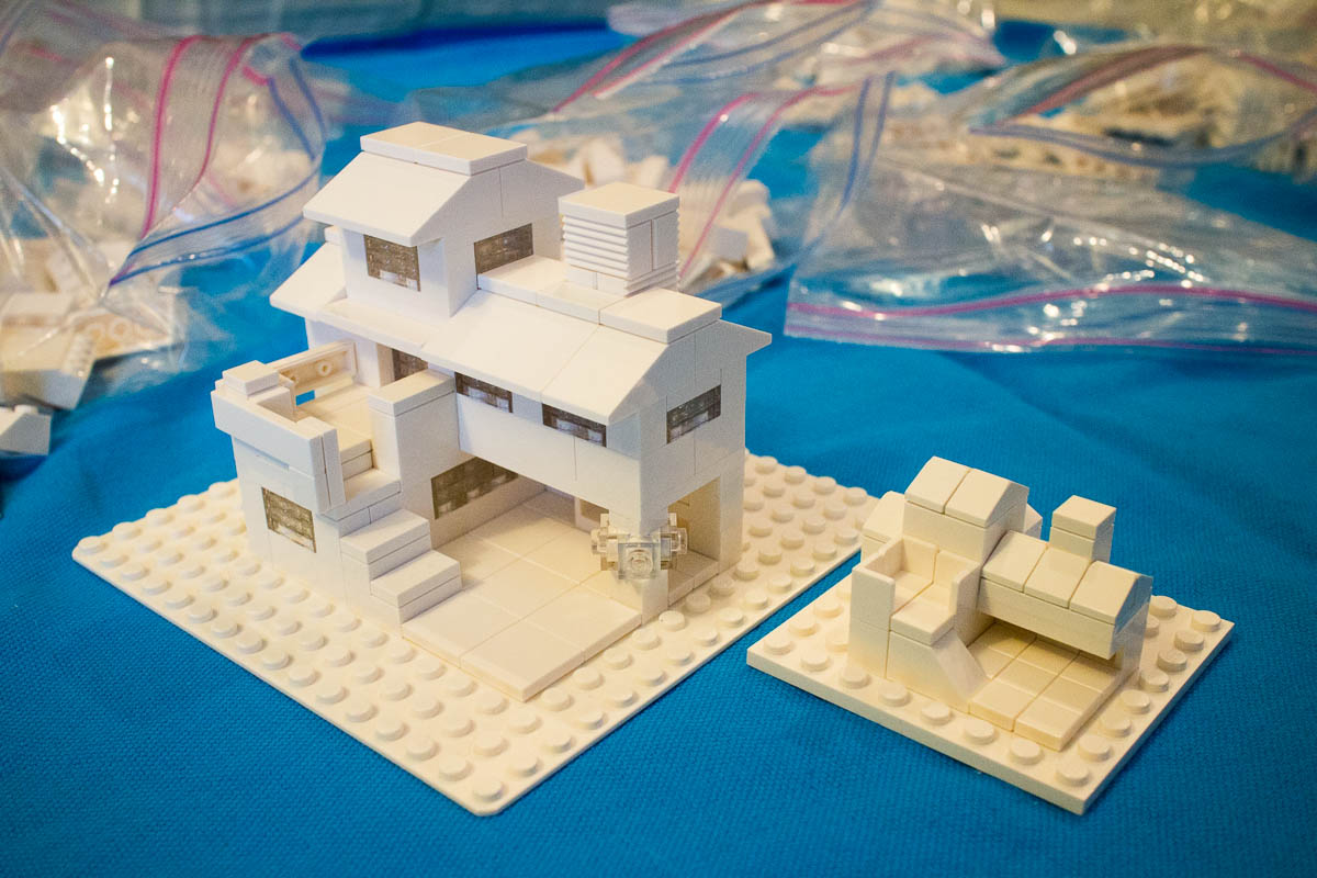 Lego Challenge #2: Build a microscale home, then a bigger ...