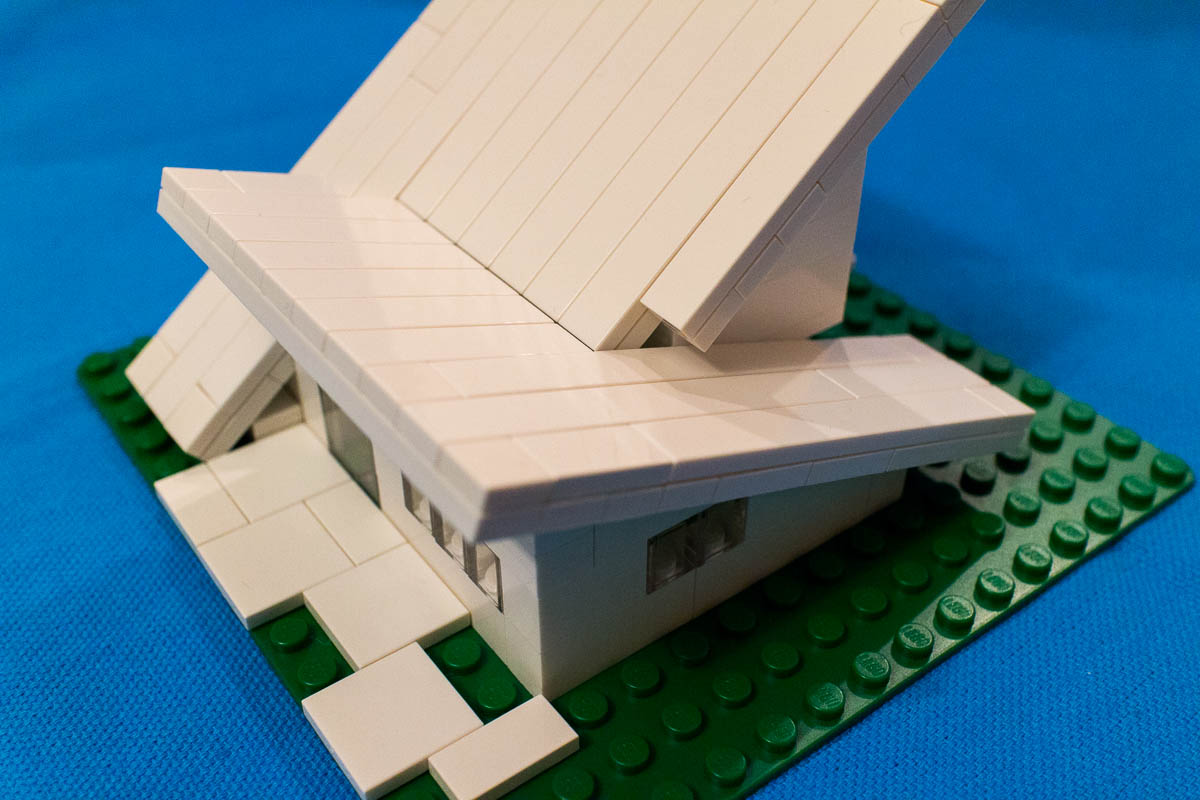 Lego Challenge #5: Build a model based on an architectural