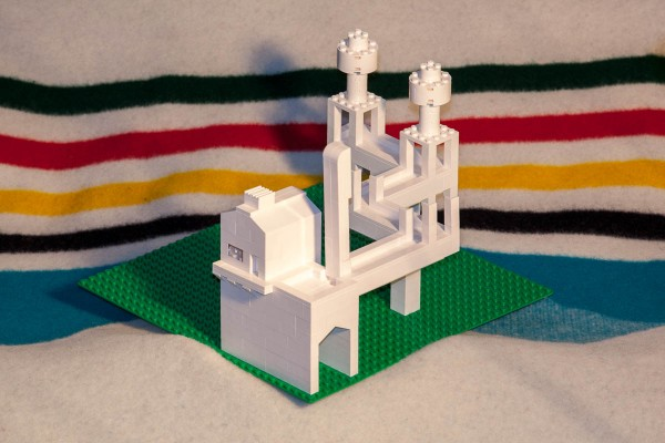 "My Impossible Escher ""Waterfall"" model."