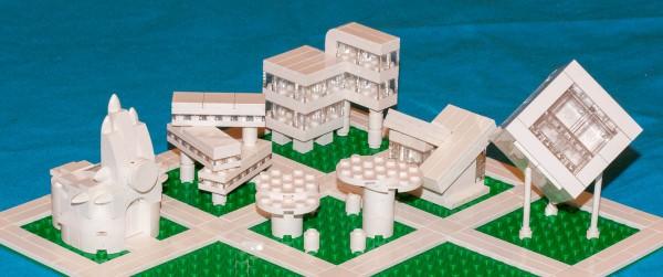 A mini Lego city.
