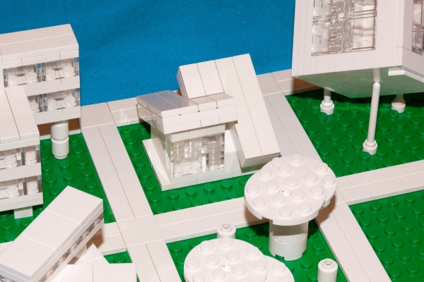 This model is a micro-scale recreation of my Shed-style house