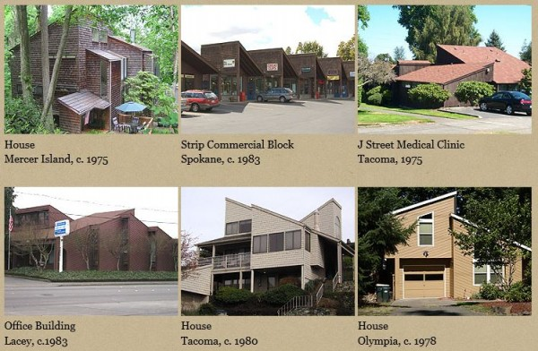 Examples of Shed style architecture from dahp.wa.gov
