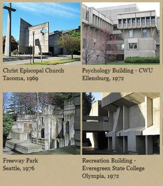 Washington State Brutalist Architectural examples