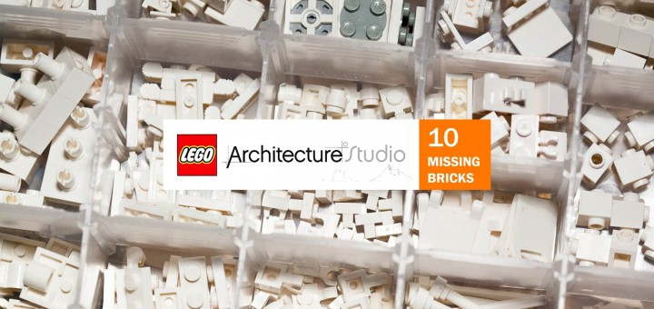 Lego Architecture Studio - the 10 missing bricks