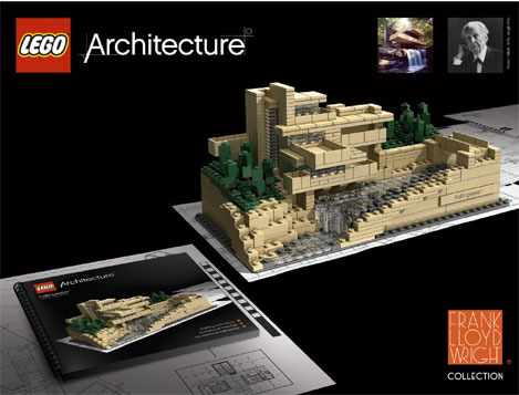 Alternately, you can buy the official Fallingwater Lego Architecture set.