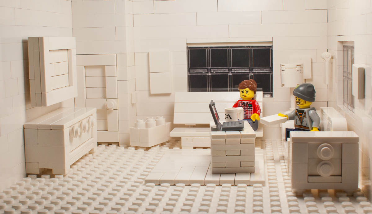 Lego Challenge #28: Build a model of an interior space – Tom Alphin