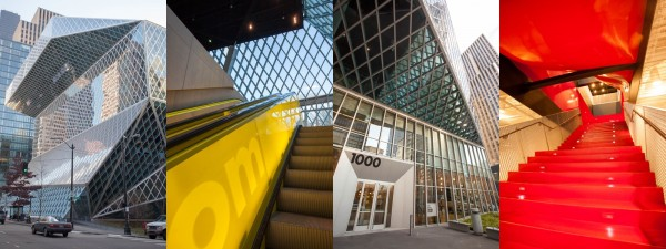 Photos I took of the Seattle Central Library