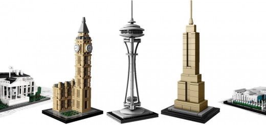 Top 5 LEGO architecture models