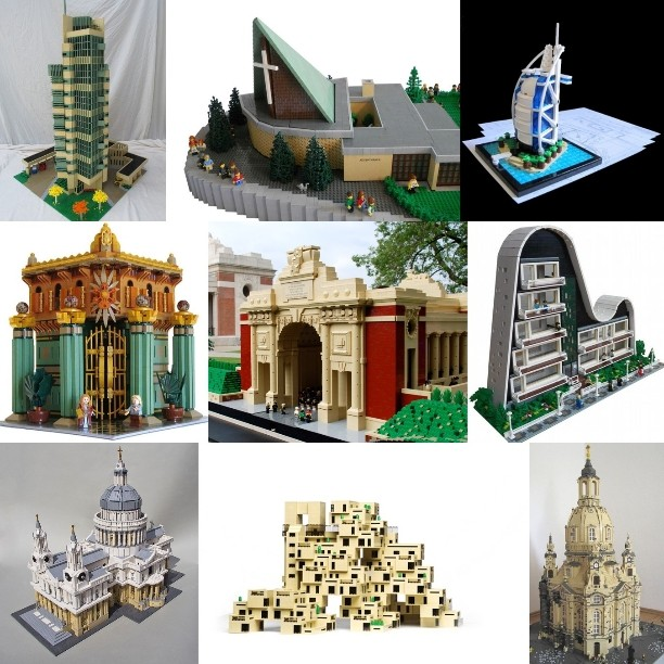 I've put together a collection of the #best #LEGO #Architecture from #MasterBuilders from all over the world. See the collection at http://tomalphin.com/2014/07/best-lego-architecture.html
