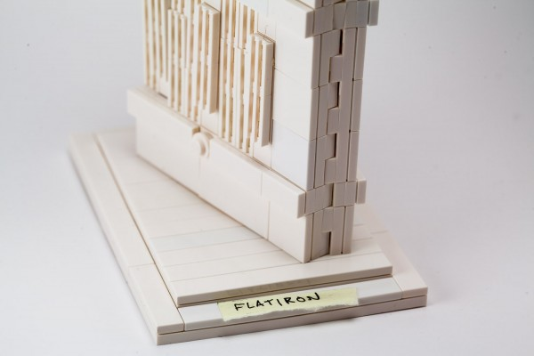 "A sticky note gives this the refinement of any other official LEGO ""Architecture"" set."