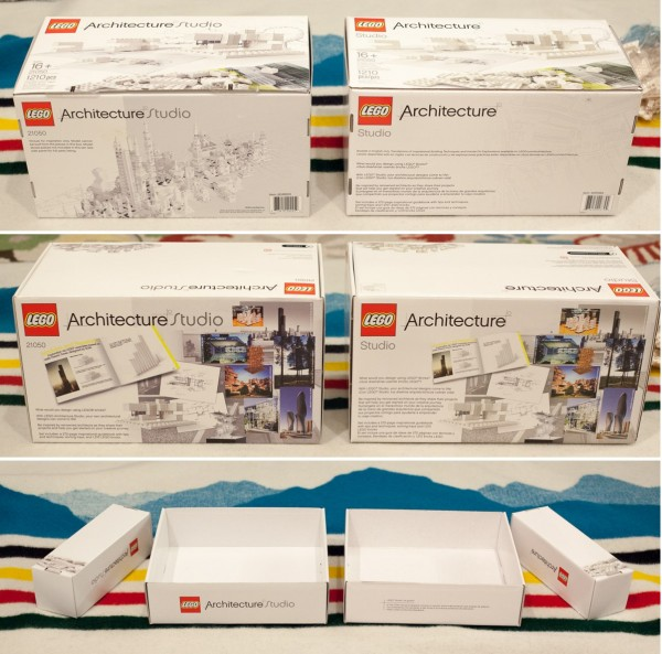 The other sides of the box are changed too, especially the bottom of the box.  (left is 2013, right is 2014)
