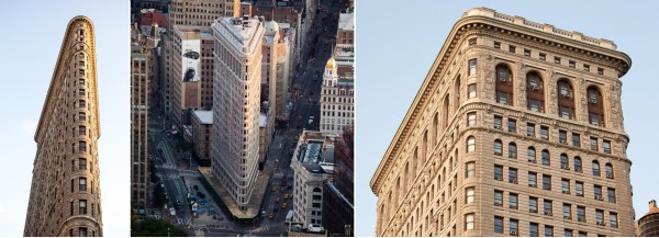 Some photos of the Flatiron Building from my trip to NYC this June.