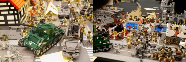 Lots of modern military tanks, trucks and battle scenes.
