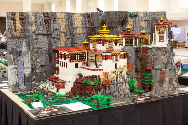 "Tiger's Nest Monastery by Anu Pehrson earned the ""People's Choice"" award!"