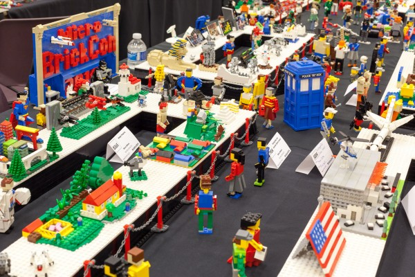 Micro BrickCon is organized every year by Steve Oakes.