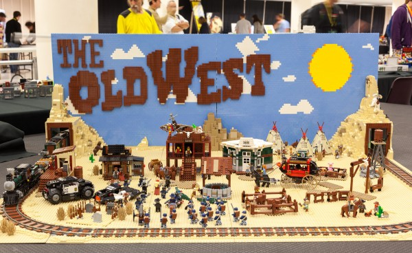 Old West model based on the LEGO Movie.