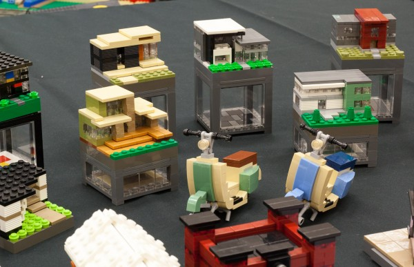 Micro Scale buildings.