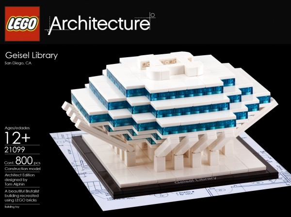 geisel library a lego architecture moc architecture. Black Bedroom Furniture Sets. Home Design Ideas