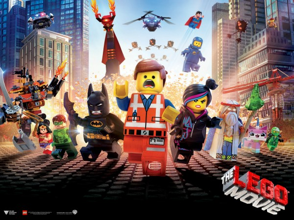Official LEGO Movie image featuring many of the characters in the movie.