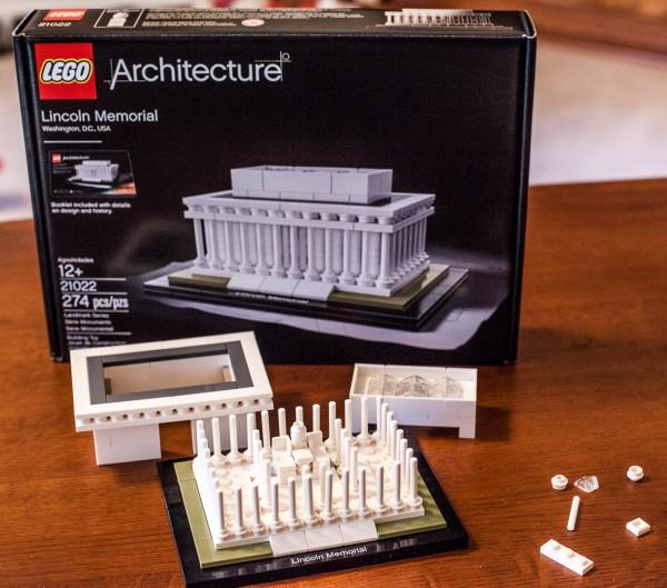 LEGO Lincoln Memorial 20122