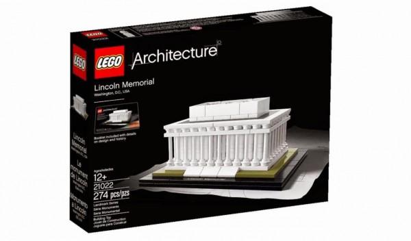Lincoln Memorial, LEGO Set #21022