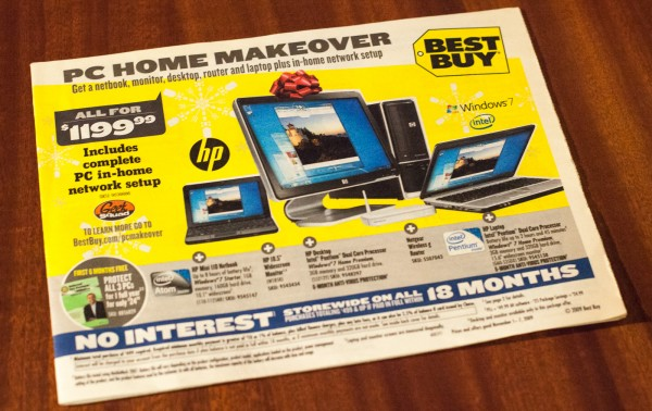 Best Buy ads for holiday 2009 also included my photo.