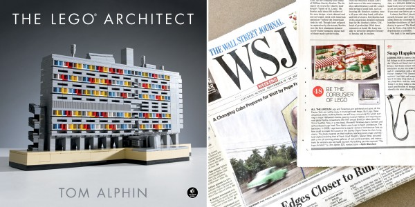 The LEGO Architect featured in Wall Street Journal.